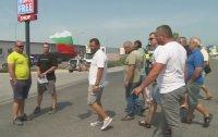 """Протест на ГКПП """"Кулата"""", превозвачи настояват за отваряне на пункта """"Илинден-Ексохи"""""""