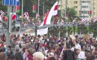 Близо 200 арестувани по време на протест в Минск