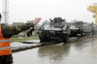 Американски танкове влязоха в Литва