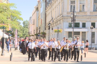 С шествие и парад на духовия оркестър в Русе отбелязаха Съединението