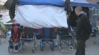 """Палатковият лагер на майките от """"Системата ни убива"""" остава пред Министерския съвет"""