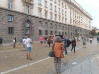 62-и ден на протести срещу правителството в София