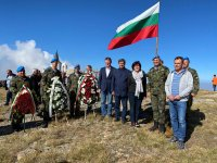 Цвета Караянчева почете на връх Каймакчалан паметта на загиналите български воини