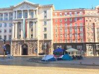 Без протестни блокади осъмна София