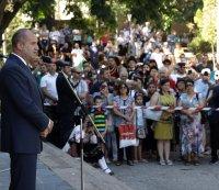 Президентът Радев участва в честванията на Съединението в Пловдивско (ОБЗОР)