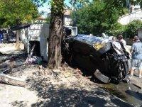 Шофьорът, помел коли в Айтос - с положителна проба за наркотици. Карал с висока скорост