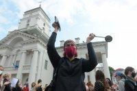 """""""Марш на героите"""" в Минск - пореден протест срещу Лукашенко"""