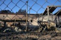 Подозират умишлен палеж заради мерките срещу COVID-19 в най-големия мигрантски лагер в Гърция
