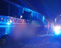 """Инцидент на АМ """"Тракия"""" - водач на автобус почина, докато шофира"""