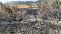 снимка 3 Пожар предизвика верижна катастрофа на подбалканския път (Видео, снимки)