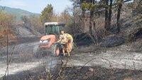 снимка 2 Пожар предизвика верижна катастрофа на подбалканския път (Видео, снимки)