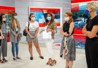 снимка 5 Започва ТВ Академията на БНТ за млади журналисти