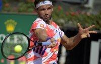 Григор Димитров започна участието си в Рим с експресна победа