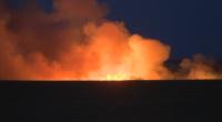 Няколко огнища на пожара между областите Стара Загора и Хасково, съмнения за умишлен палеж