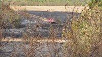снимка 1 Пожар предизвика верижна катастрофа на подбалканския път (Видео, снимки)