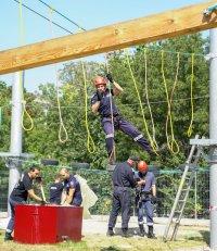 снимка 2 Нов тренировъчен лагер за пожарникари откриха в София