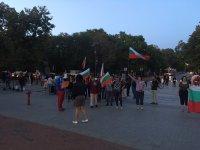 снимка 5 Поредна вечер на протест във Варна
