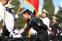 """снимка 1 Ген. Мутафчийски получи звание """"Доктор Хонорис кауза"""" от Военноморското училище във Варна"""