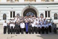 """снимка 19 Ген. Мутафчийски получи звание """"Доктор Хонорис кауза"""" от Военноморското училище във Варна"""