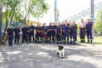 снимка 7 Нов тренировъчен лагер за пожарникари откриха в София