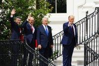 Тръмп: Споразумението Израел - Бахрейн - ОАЕ е зората на нов Близък изток