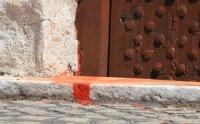 """64-годишна жена е заляла с червена боя храм """"Света Петка Самарджийска"""""""