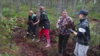 Доброволци от Естония в битка за климата