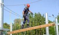 снимка 1 Нов тренировъчен лагер за пожарникари откриха в София