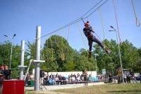 снимка 6 Нов тренировъчен лагер за пожарникари откриха в София