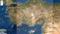 5,3 по Рихтер в Турция