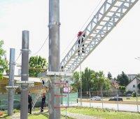 снимка 5 Нов тренировъчен лагер за пожарникари откриха в София