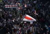 Арестуваха над 200 души на протестите в Беларус