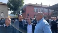 Премиерът Борисов посети велинградското село Грашево