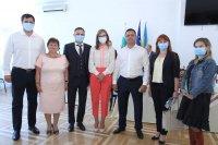 снимка 1 Захариева пред българите в Украйна: Прекланям се пред вашия дух