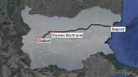 "ТИР изгоря пред тунел ""Витиня"" снощи"