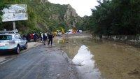 Разчистиха калното свлачище в района на Кресненското дефиле, преминава се нормално