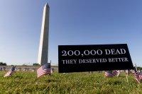 Над 200 000 жертви на COVID-19 в САЩ