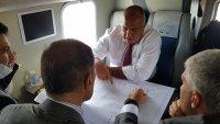 "Борисов инспектира с хеликоптер строежа на ""Балкански поток"""