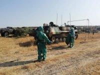 Военни провеждат учение за реакция при ядрена, химическа или биологическа атака