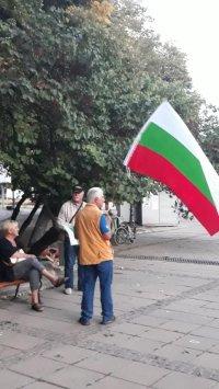снимка 4 Поредна вечер на протест във Варна