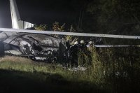 Самолет се разби край Харков, десетки загинаха (Снимки)