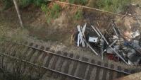 Възстановено е движението на влаковете по линията Русе - Горна Оряховица