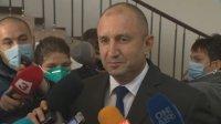 Радев коментира освобождаването на бившия началник на кабинета си и отношенията си с лидера на БСП