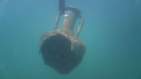 Откриха стъклени съдове, част от съкровището на потънал кораб край Бургас