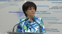 Караянчева обещава промени, за да се облекчи работата на журналистите в парламента