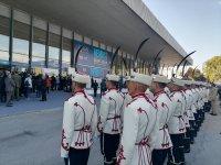 снимка 2 Радев и Каракачанов откриват изложение за отбранителна техника в Пловдив