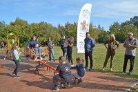 Нова спортна площадка за хора в риск бе открита на Витоша