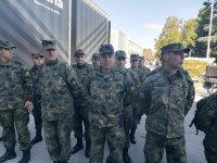 снимка 6 Радев и Каракачанов откриват изложение за отбранителна техника в Пловдив