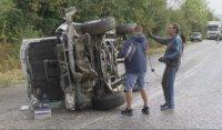 Две тежки катастрофи затвориха за часове пътя между Велико Търново и Габрово