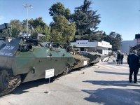 снимка 4 Радев и Каракачанов откриват изложение за отбранителна техника в Пловдив